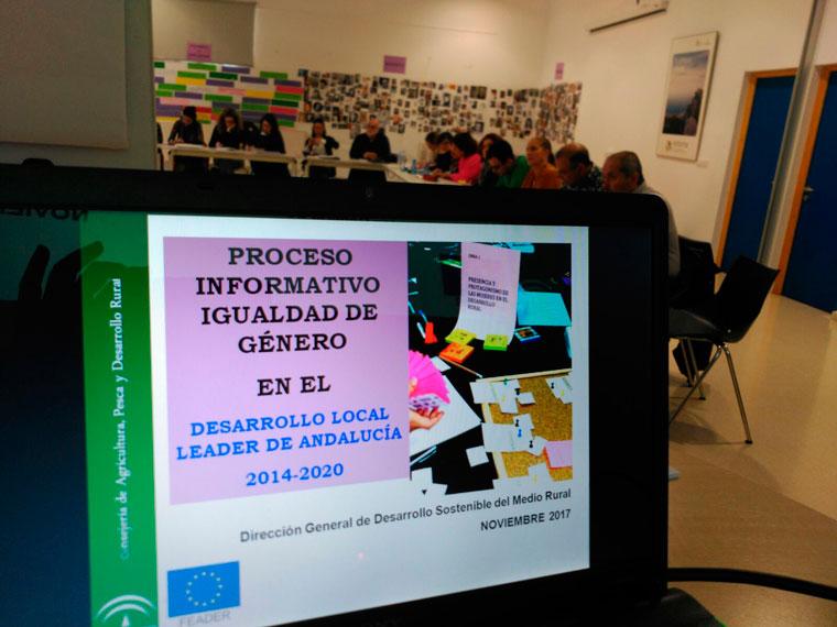 Los Grupos de Desarrollo Rural de Andalucía Oriental se forman en igualdad de género en la sede del GDR de Guadix