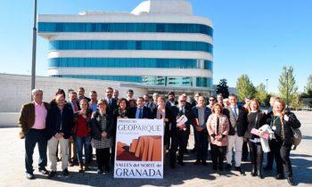 El GDR de Guadix, junto con otras 17 entidades, firma el convenio del proyecto de Geoparque