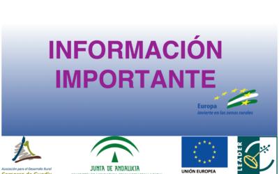 Publicada la resolución provisional 2ª Convocatoria 2017 EDL Comarca de Guadix
