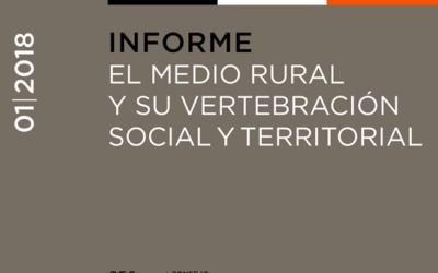 Informe sobre el Medio Rural y su vertebración social y territorial del Consejo Económico y Social de España (CES)