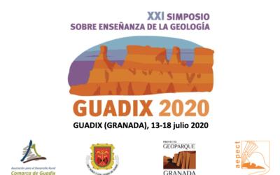 XXI Simposio sobre enseñanza de la Geología. Guadix, 13 a 18 de julio de 2020.