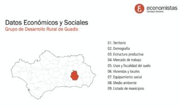 DATOS SOCIALES Y ECONÓMICOS DE LA COMARCA DE GUADIX.
