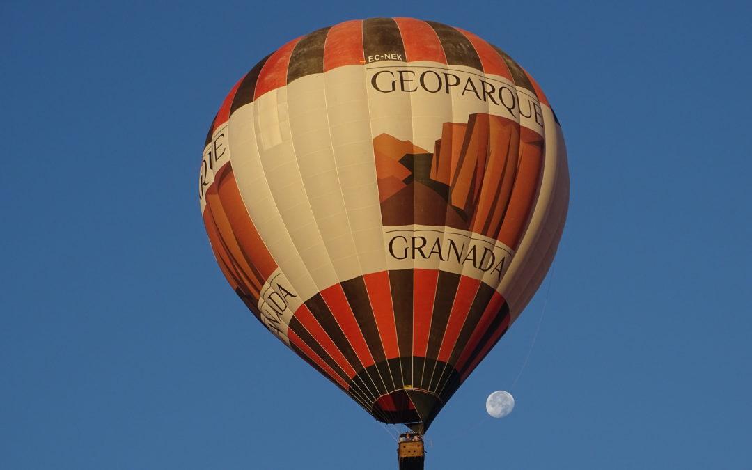 El proyecto de Glovento Sur: El Geoparque de Granada emprende un viaje de altos vuelos