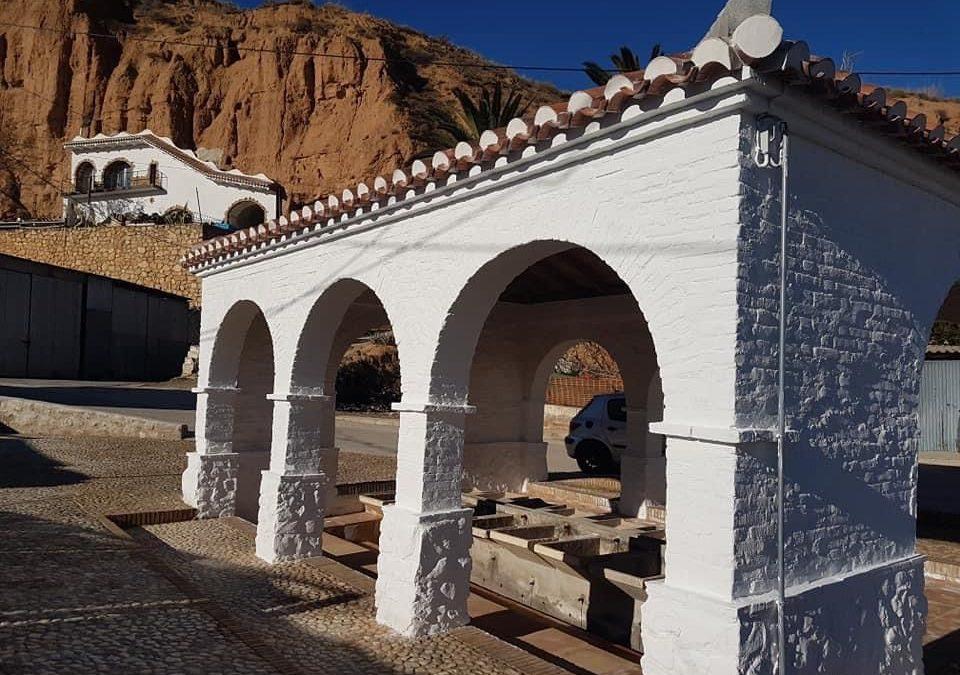 Lopera recupera el lavadero público como símbolo identitario de la localidad y en reconocimiento de las mujeres del pueblo.
