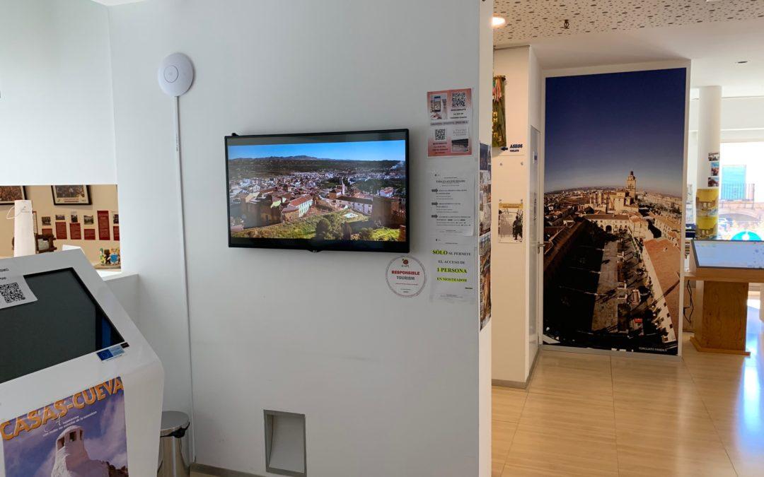 Información turística comarcal: Disponible 24 horas al día y siete días a la semana gracias a la colaboración del GDR.