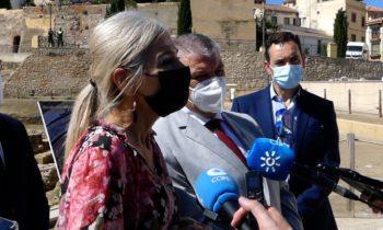 El GDR de Guadix financia con 240.551,92 euros la recuperación del porticus post scaenam del Teatro Romano de Guadix
