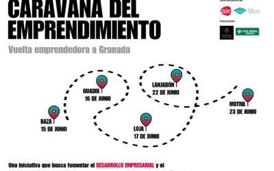 """El GDR de Guadix colabora con """"La caravana del emprendimiento""""."""