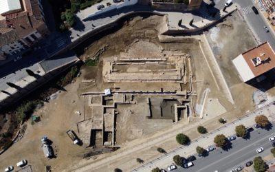 La actuación de recuperación del Porticus Post Scaenam del Teatro Romano de Guadix está ofreciendo numerosos hallazgos arqueológicos